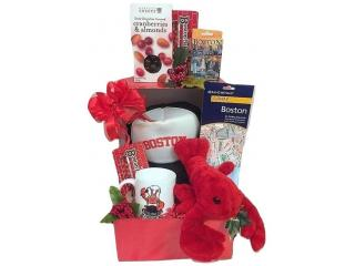 Send Authentic Gourmet Christmas Gift Baskets to Boston or Across the USA
