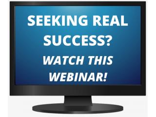 Struggling For Success?...Watch This Webinar